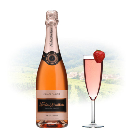 Picture of Nicolas Feuillatte Brut Rose Champagne 750 ml, NICOLASBRUTROSE