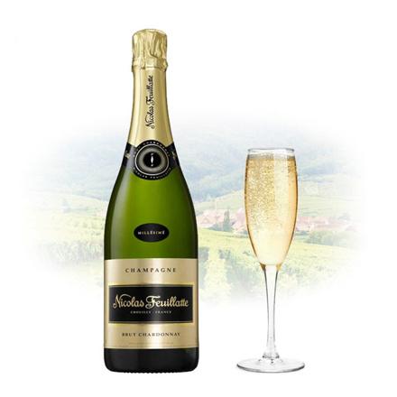 Picture of Nicolas Feuillatte Brut Blanc de Blancs Champagne 750 ml, NICOLASDEBLANCS