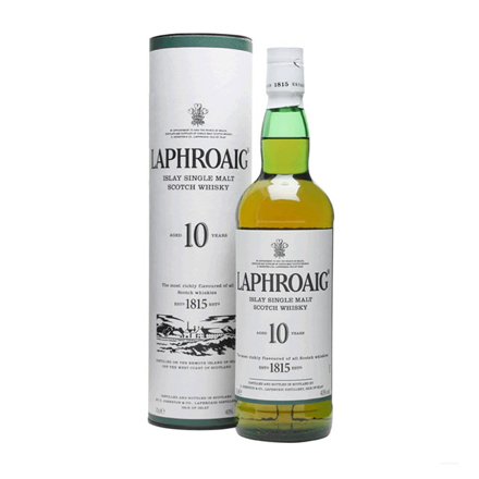 Picture of Laphroaig 10 Year Old Single Malt Scotch Whisky 700 ml, LAPHROAIG10