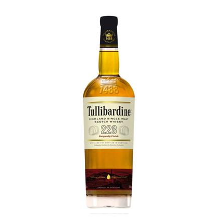 Picture of Tullibardine 228 Burgundy Finish Single Malt Scotch Whisky 700 ml, TULLIBARDINE228