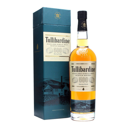 Picture of Tullibardine 500 Sherry Finish Single Malt Scotch Whisky 700 ml, TULLIBARDINE500