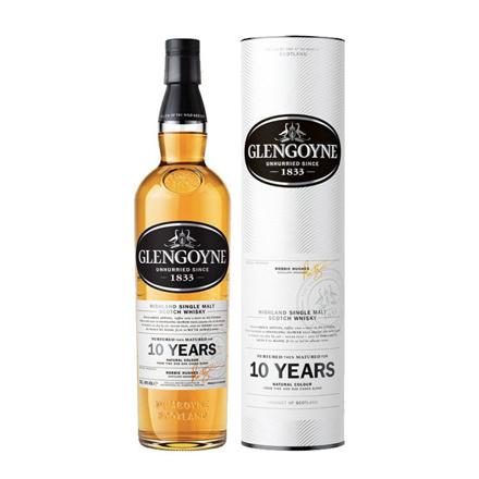 Picture of Glengoyne 10 Year Old Single Malt Scotch Whisky 700 ml, GLENGOYNE10