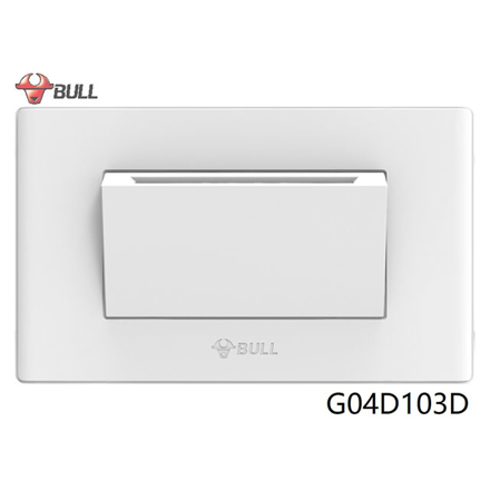 Picture of Bull Intelligent Card Energy-efficient Switch Set (White), G04D103D