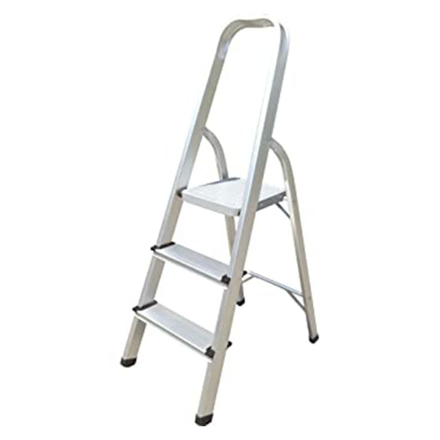 Picture of Jinmao Aluminum 3 Step Household Ladder 150 kg, JMA017103