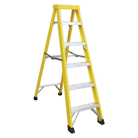 Picture of Jinmao 5 Step Fiberglass Step Ladder 250 lbs, JMFM22105I