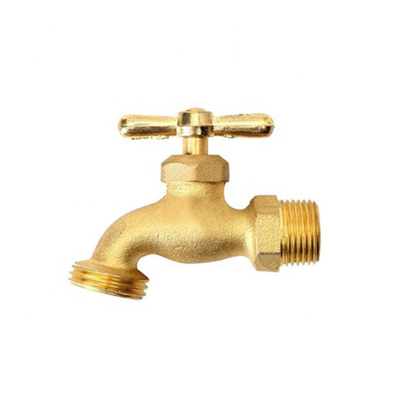 Picture of Omega Brass Faucet Screw Type with Hose Bib 1/2 in x 3/4 in(Small and Large), BC-1120
