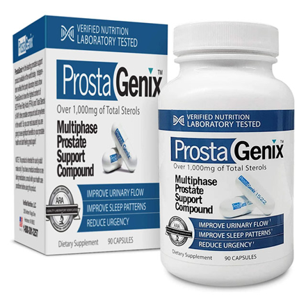 Picture of ProstaGenix Multiphase Prostate Support Compound (90 capsules), PROSTAGENIX
