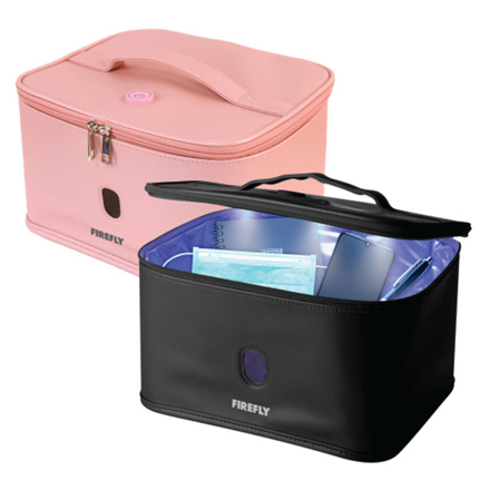Picture of Firefly UV Sterilizer Bag with Auto Shut-Off Safety Feature (Black, Pink), FYL401BK