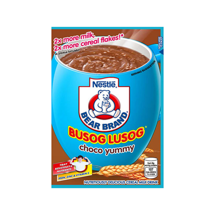 Picture of Nestle Bearbrand Busog Lusog Cereals 28g (Choco Yummy, Milky Yummy), BEA07