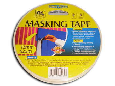 Picture of KL & LING Int Inc Masking Tape, KISM0118