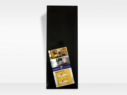 Picture of Element System Wood Shelving 300mm Stipple Black