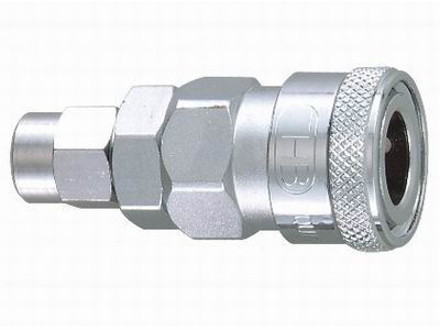 Picture of THB 8x12 Steel Quick Coupler Body - PU Hose End
