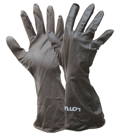 Picture of Lotus LWG002 Rubber Gloves (Latex)