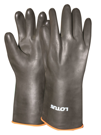 Picture of Lotus LRG1023 Rubber Gloves (Industrial)