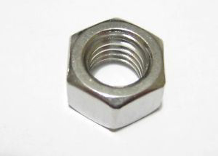 Picture of 316 Stainless Steel Hex Nuts Inches Size