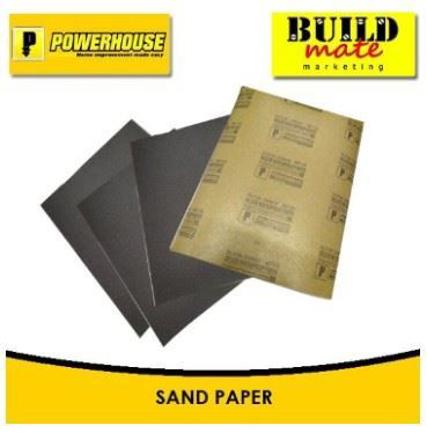 Picture of Powerhouse Waterproof Sandpaper No.60