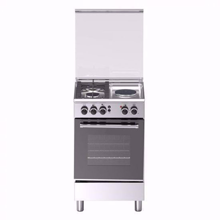 Picture of Tecnogas TFG5521CRVSSC 50cm Range, 2 Gas and 1 Electric Hot Plate