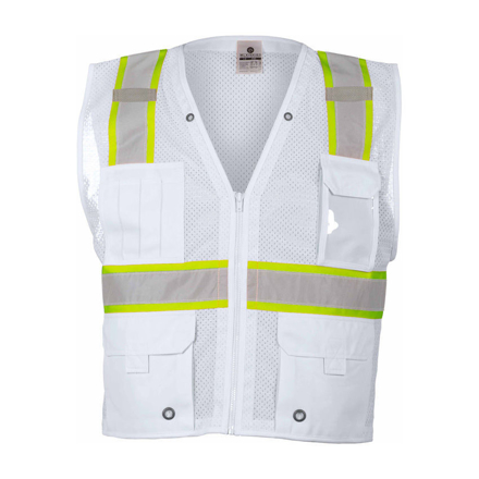 Picture of Safety Vest (White) - SVEST