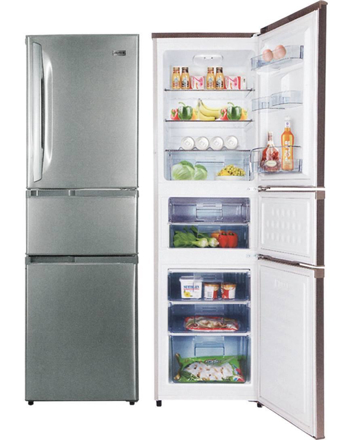 Picture of Markes 3 Door Bottom Refrigerator MR3BF-238J