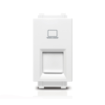 Picture of Computer Wall Socket 1M RJ45 Cat5 Origami Style