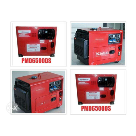 Picture of Diesel Generator PMD6500DS