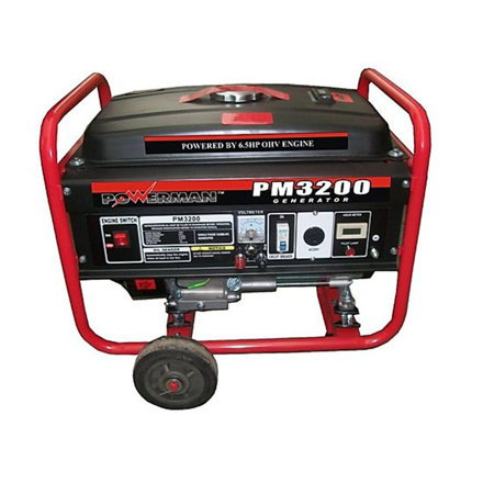 Picture of Gasoline Generator OHV Forced Air-Cooled 4-Stroke PM3200/PM3200ES