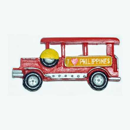 Picture of Jeepney Ref Magnet, Philippine Jeepney Souvenir