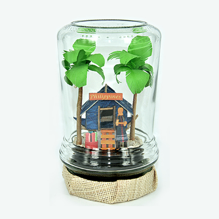 Picture of Magic Bottle Bahay Kubo- 0023-0215