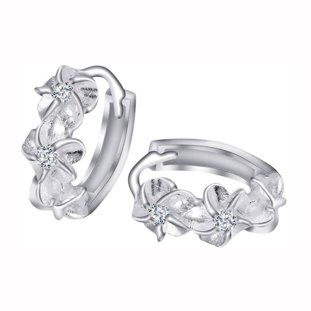 Picture of 925 Silver Jewelry,Clip Earrings- ER-473