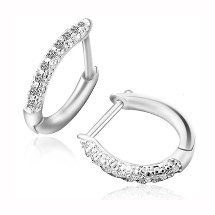 Picture of 925 Silver Jewelry,Clip Earrings- ER-486