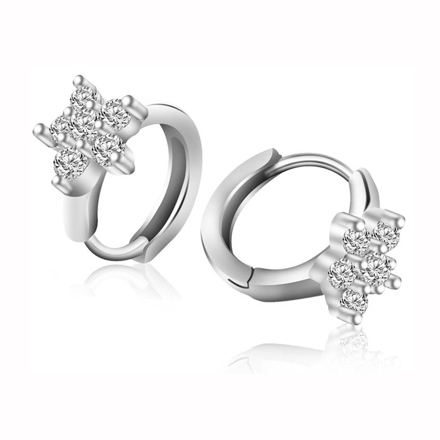 Picture of 925 Silver Jewelry,Clip Earrings- ER-508