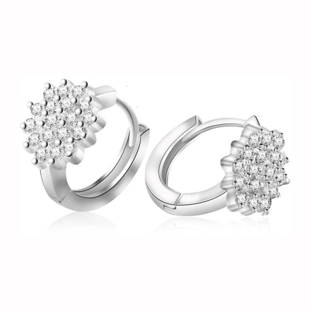 Picture of 925 Silver Jewelry,Clip Earrings- ER-510