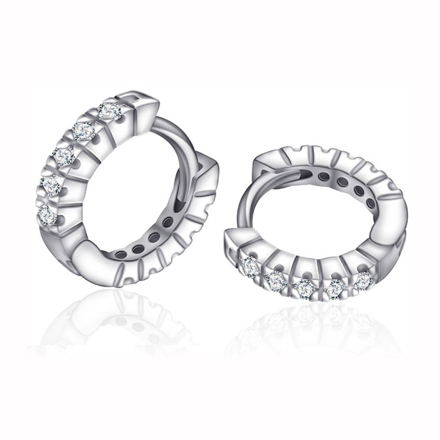 Picture of 925 Silver Jewelry,Clip Earrings- ER-535