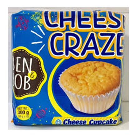 Picture of Cheese Craze, Cheese Cupcake, Ben & bob cheese craze/double trouble