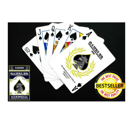 Picture of Gambler Playing cards, Red Cards (52Cards) -red Card Deck