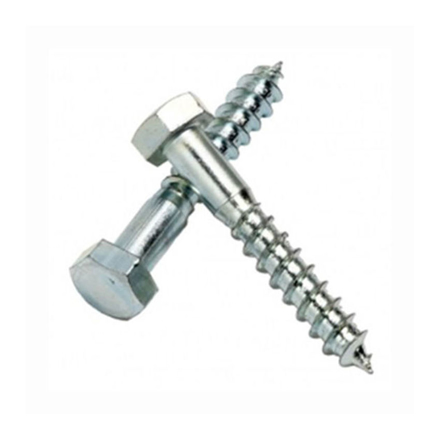 Picture of 10Pcs G. I. Hex Lag Screw, Hex Screw for Concrete
