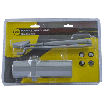 Picture of Yale Y1824R Series, Power Selectable Hydraulic Surface Mounted Door Closer, Y1824R