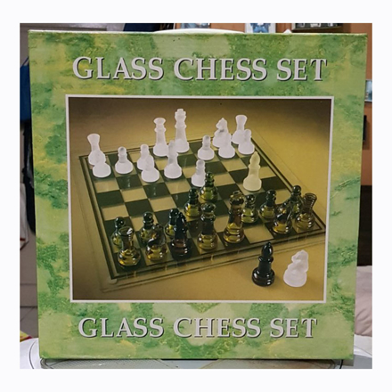 Picture of Glass Chess Set, U04GCS