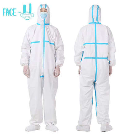 Picture of PPE Cover all suit  ( Personal Protective Equipment)