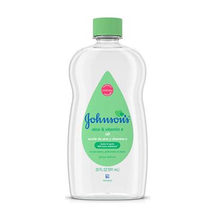 Picture of Johnson's Aloe Vera and Vitamin E Baby Oil, JOH22
