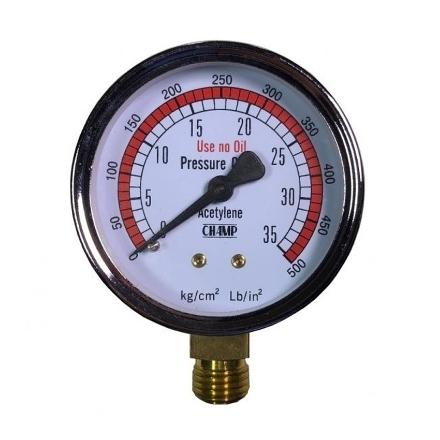 Picture of Harris Acetylene Gauge 35 PSI, 686