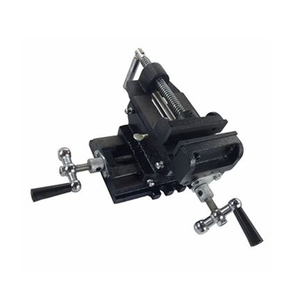 """Picture of S-Ks Tools USA Heavy Duty 3"""" Cross Vise (Black/Silver), CT-111"""