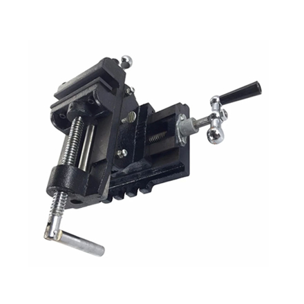 """Picture of S-Ks Tools USA Heavy Duty 4"""" Cross Vise (Black/Silver), CT-111-4"""""""