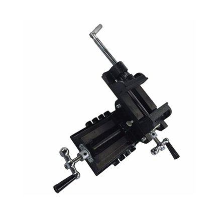 """Picture of S-Ks Tools USA Heavy Duty 5"""" Cross Vise (Black/Silver), CT-111-5"""""""