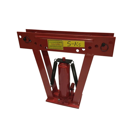 """Picture of S-Ks Tools USA Heavy Duty 12 Tons Hydraulic Pipe Bender (Black/Red), JM-8012-3"""""""