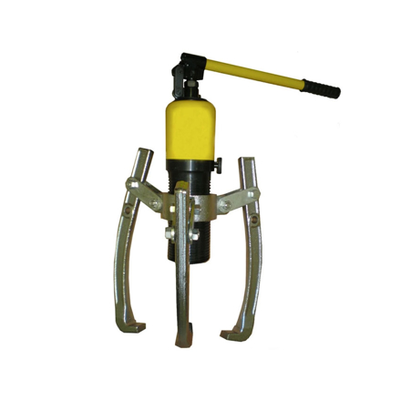 Picture of S-Ks Tools USA Heavy Duty 10 Tons 3 Arms Hydraulic Gear Puller (Black/Yellow), JMHHL-10