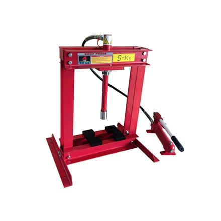 Picture of S-Ks Tools USA Hydraulic Shop Press (Black/Red), JMSP-9004