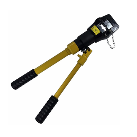 Picture of S-Ks Tools USA 16 Tons Hydraulic Crimping Plier Cable Crimper (Black/Yellow), JMYQ-400A