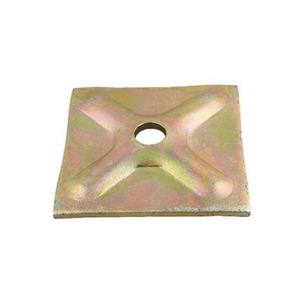 "Picture of Tie Rod Thrust Plate 2"" x 4"", TRTP2""x4"""