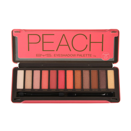 Picture of BYS Peach 12pcs Eyeshadow Palette, CO/ESOPEA